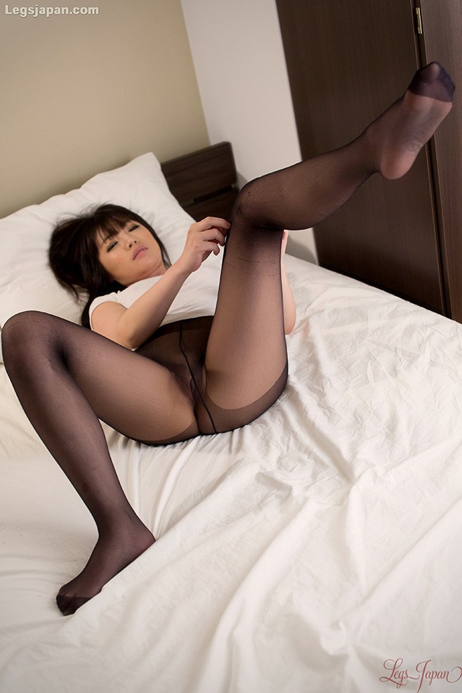 Rather valuable Busty japanese in stockings