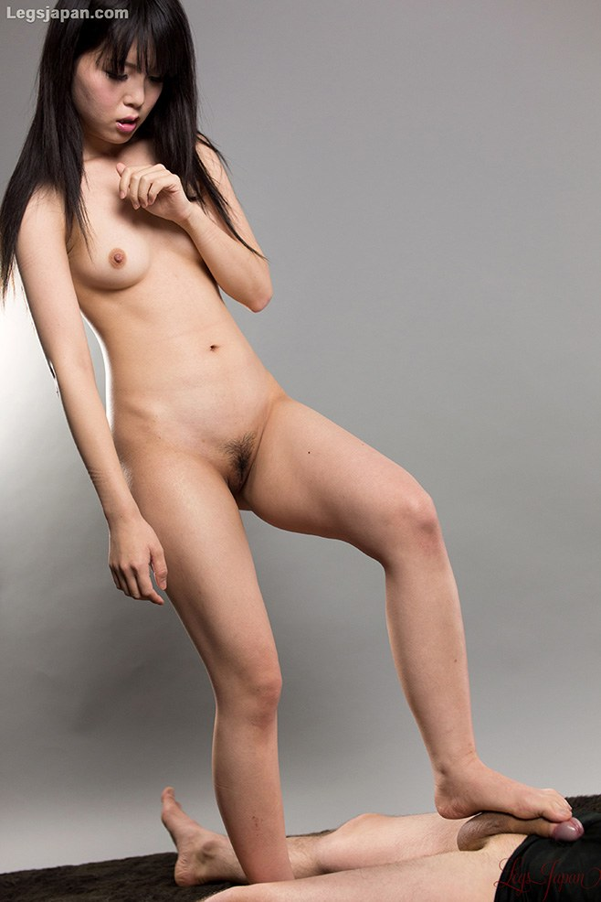 cute smiling naked woman